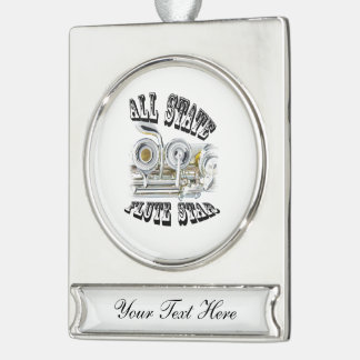 All State Flute Player Ornament Jewelry ANY COLOR