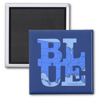 All States Blue. We can make it happen! Magnets
