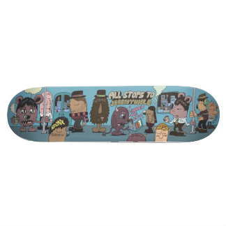 All Stops to Jeremyville Skate Board Deck