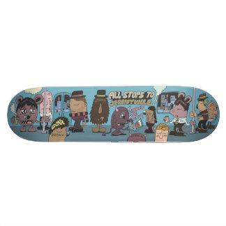 All Stops to Jeremyville Skateboard Deck