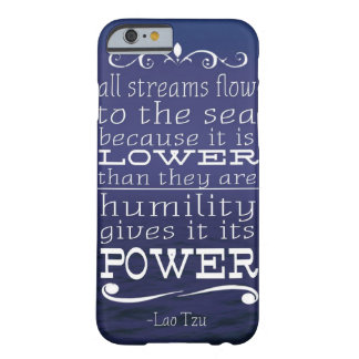 all streams flow to the sea barely there iPhone 6 case