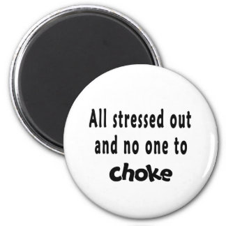 all stressed out 2 inch round magnet