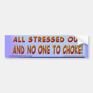 All Stressed Out.. Sticker
