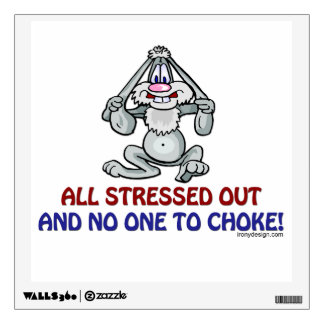 All Stressed Out Wall Sticker
