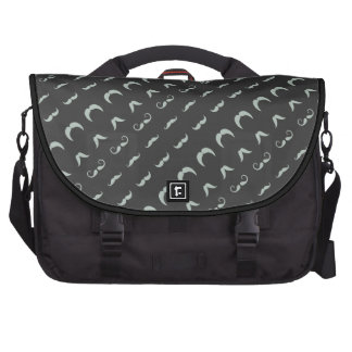 all styles mustaches commuter bag