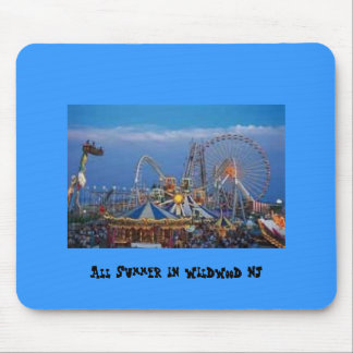 All Summer in Wildwood NJ Mouse Pad
