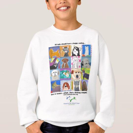 All tails should have a happy ending.... sweatshirt