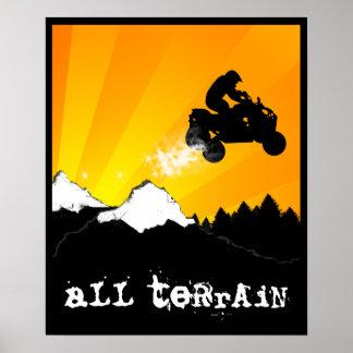 all terrain atv poster