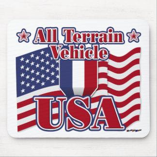 All Terrain Vehicle USA Mouse Pad