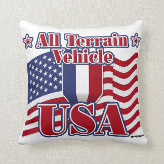 All Terrain Vehicle USA Pillows