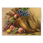 All Thanksgiving Bounty Be Thine Greeting Card