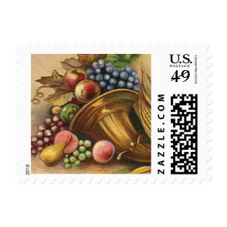 All Thanksgiving Bounty Be Thine Stamp