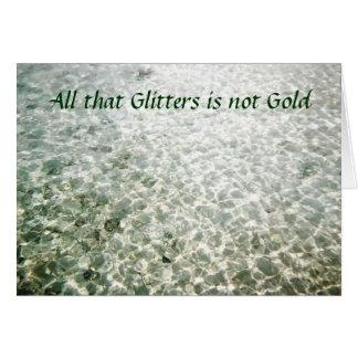 All that Glitters Custom Cards