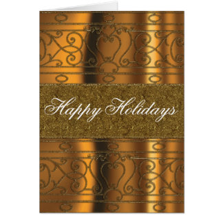 All that glitters gold Christmas Card