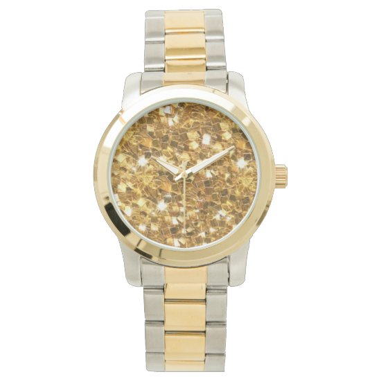 All that Glitters, Gold Glitter Look Watches