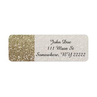 All That Glitters Return Address Label