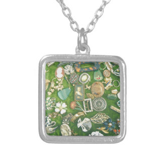 All That Glitters Silver Plated Necklace