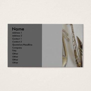 Professional Business All that Jazz Business Card