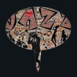 "ALL THAT JAZZ CAKE TOPPER<br><div class=""desc"">Celebration of Jazz</div>"