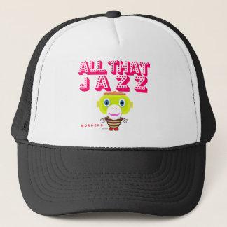 All That Jazz-Cute Monkey-Morocko Trucker Hat