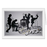 All that Jazz Greeting Cards