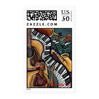 All That Jazz Postage