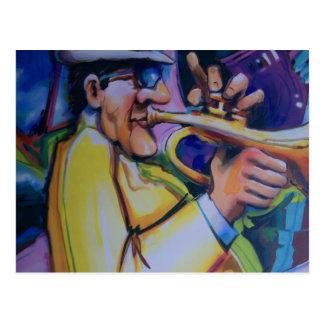 all that jazz postcard