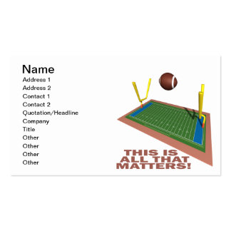 All That Matters Double-Sided Standard Business Cards (Pack Of 100)