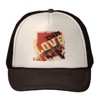 All That Peace and Love Trucker Hat