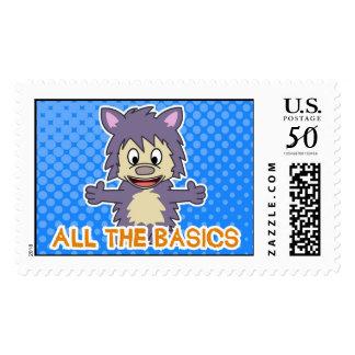 "All The Basics ""Jonas"" Stamp"