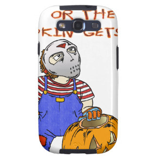 All the Candy or the Pumpkin gets it Galaxy SIII Cover