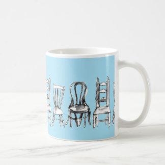 All The Chairs Coffee Mug