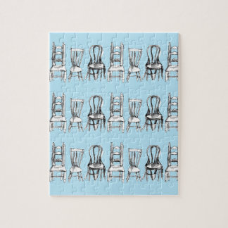All The Chairs Jigsaw Puzzle