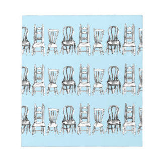 All The Chairs Notepad
