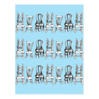 All The Chairs Postcard