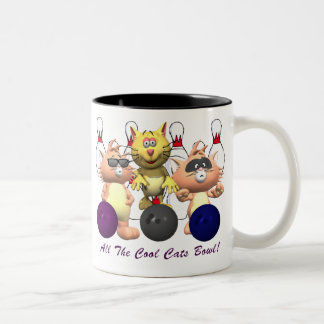 All The Cool Cats Bowl Two-Tone Coffee Mug