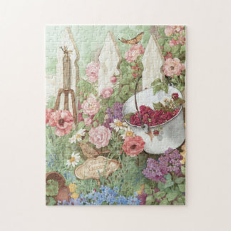 All the Earth Laughs in a Garden Puzzle