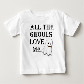All The Ghouls Love Me Black Toddler Tshirt