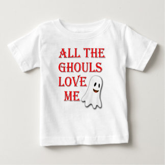All The Ghouls Love Me Red Toddler Tshirt