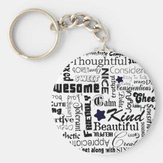 All the Good Things About You Keychain