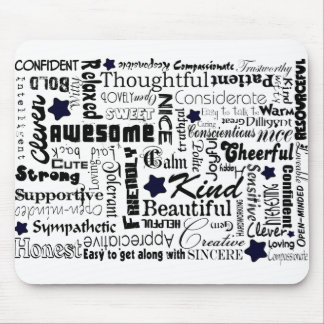 All the Good Things About You Mouse Pad