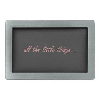 All the Little Things... Rectangular Belt Buckle