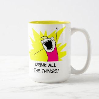 All the meme Two-Tone coffee mug