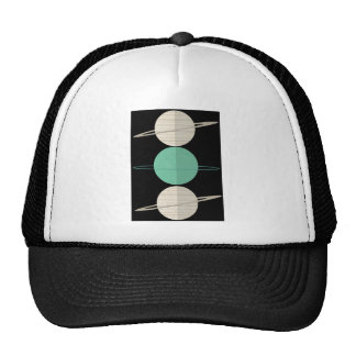 All The Planets Abstract Illustration Apparel Trucker Hat