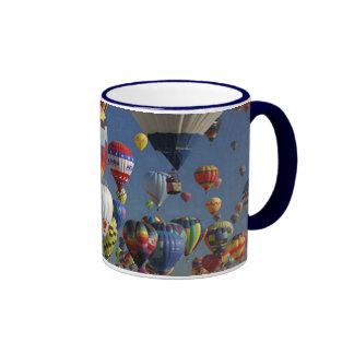 ALL the PRETTY BALLOONS by SHARON SHARPE Ringer Coffee Mug
