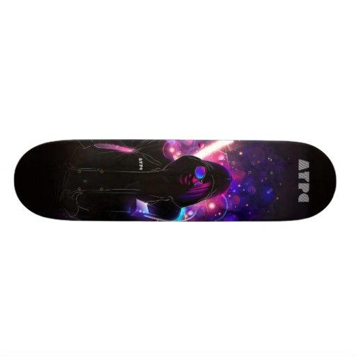 All The Pretty Colors Custom Skate Board