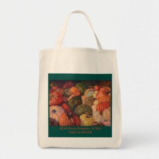 All the Pretty Pumpkins, Half Moon Bay Tote Bag