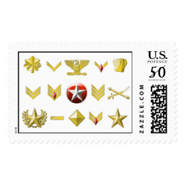 All the Ranks Postage