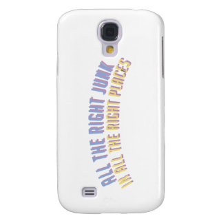 'All The Right Junk In All The Right Places' Galaxy S4 Case