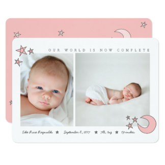 all the stars in the sky-blush pink card